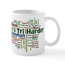 Ironman Triathlon Jargon Small Mug