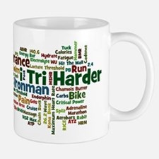 Ironman Triathlon Jargon Small Small Mug