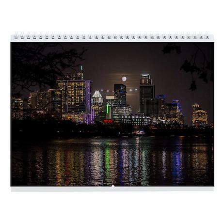 Austin Texas Wall Calendar