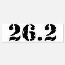 26.2 - Marathon Bumper Bumper Sticker