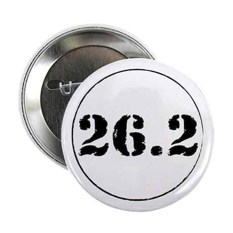 """26.2 - Marathon 2.25"""" Button (100 pack)"""