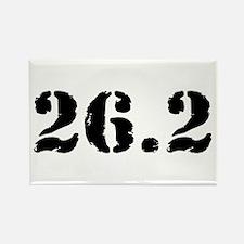 26.2 - Marathon Rectangle Magnet
