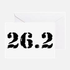26.2 - Marathon Greeting Card