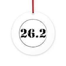 26.2 - Marathon Ornament (Round)