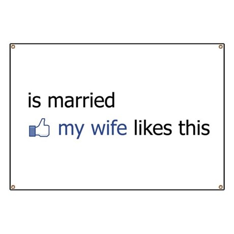 FB Status Married Banner