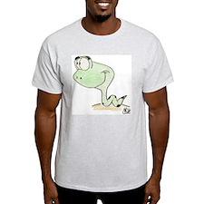 Snake (Front) T-Shirt (Ash Grey)