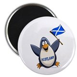 Scottish flag magnet Magnets