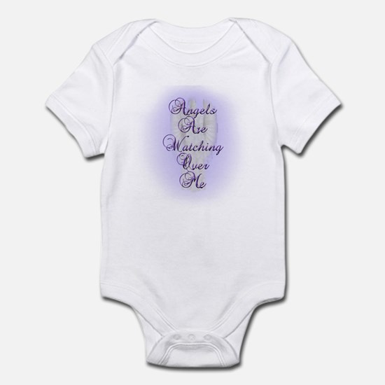 Angels Are Watching Over Me Infant Bodysuit