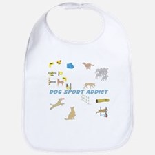 Dog Sports Addict Bib