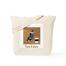 """""""Turn & Burn"""" Tote Bag (Design on both sides)"""
