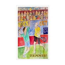 Tennis! Decal