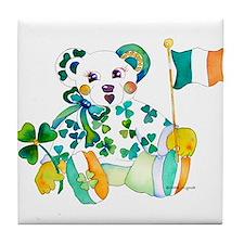 St Patrick's Day Tile Coaster