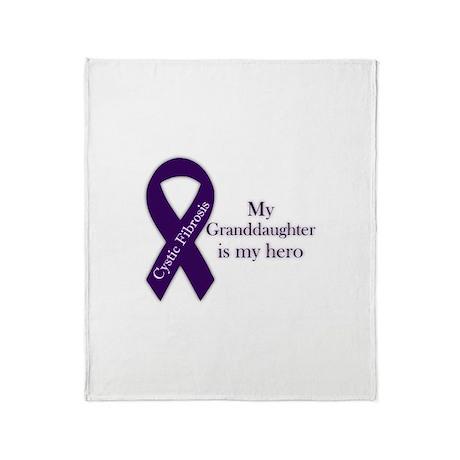 Granddaughter CF Hero Throw Blanket