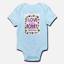 Mommy Takes Me To Parades Infant Bodysuit