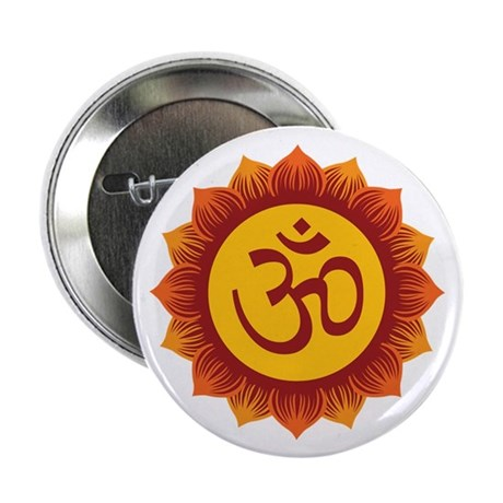 "Hindu Aum Symbol 2.25"" Button (100 pack)"