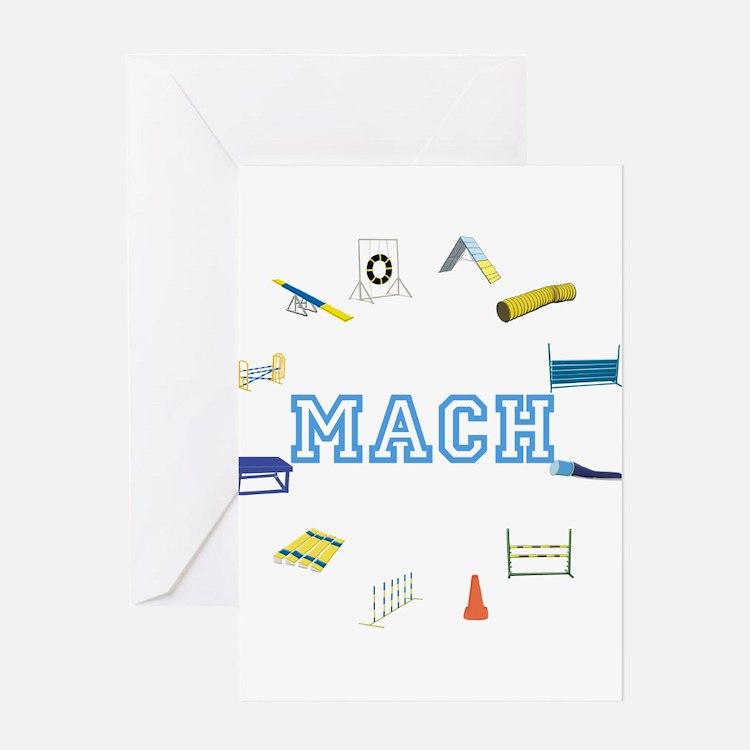 Agility MACH Greeting Card