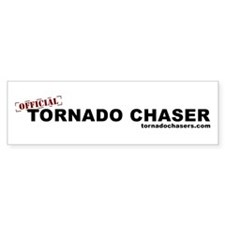 Official Tornado Chaser Bumper Bumper Sticker