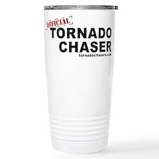 Unique Tornado chaser Travel Mug