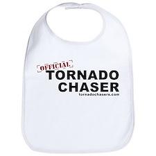 Cute Tornado chaser Bib