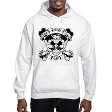 Baker Family Crest Skull Hoodie