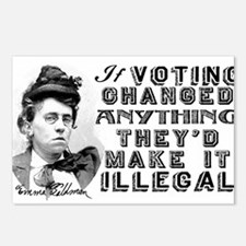 Emma Goldman Voting Postcards (Package of 8)
