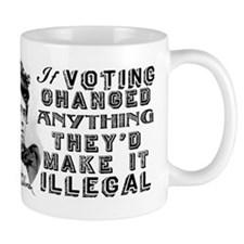 Emma Goldman Voting Mug