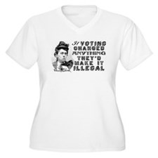 Emma Goldman Voting T-Shirt