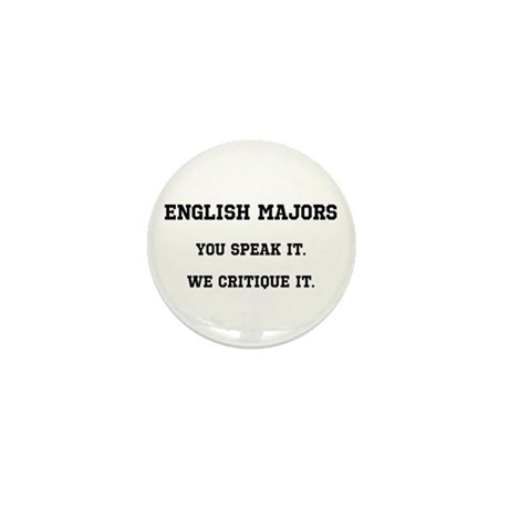 You Speak, We Critique Mini Button (10 pack)