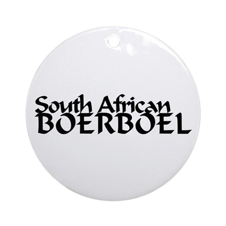South African Boerboel Ornament (Round)