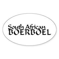 South African Boerboel Decal