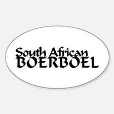 South African Boerboel Decal