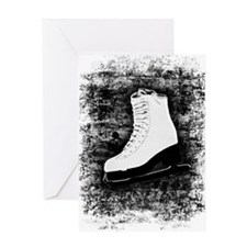 Graffiti Ice Skate Greeting Card