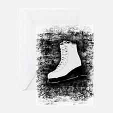 Graffiti Ice Skate Greeting Card