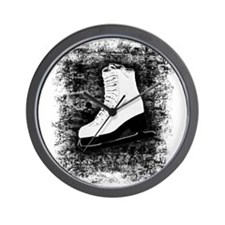 Graffiti Ice Skate Wall Clock