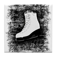 Graffiti Ice Skate Tile Coaster