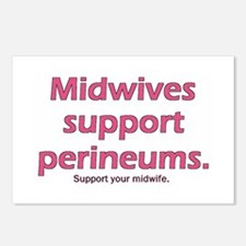 """""""Midwives Support"""" Postcards (Package of 8)"""