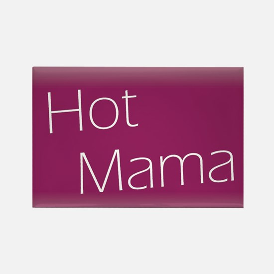 Cool Hot mama Rectangle Magnet