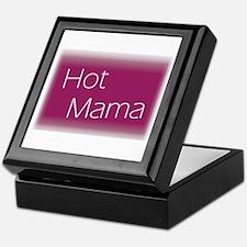 Funny Hot mama Keepsake Box