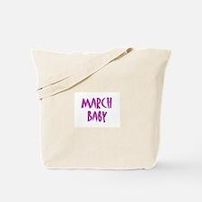 Cute Due in march Tote Bag