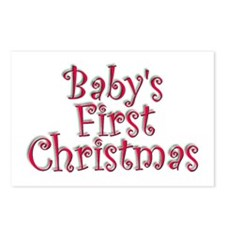 Baby's First Christmas Postcards (Package of 8)