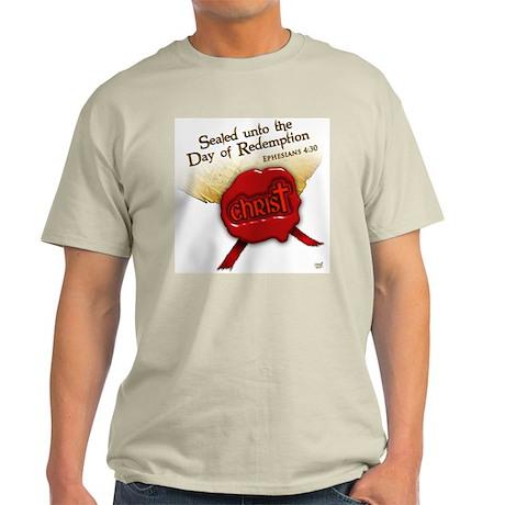 Sealed Unto Redemption Light T-Shirt