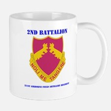 DUI - 2nd Bn - 321st Airborne FA Regt with Text Mu