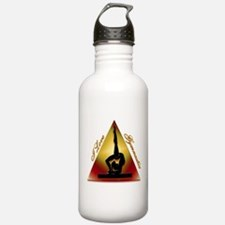 I Love Gymnastics Triangle Water Bottle