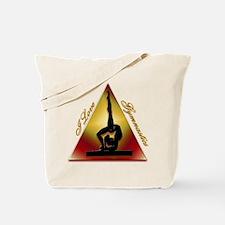 I Love Gymnastics Triangle Tote Bag