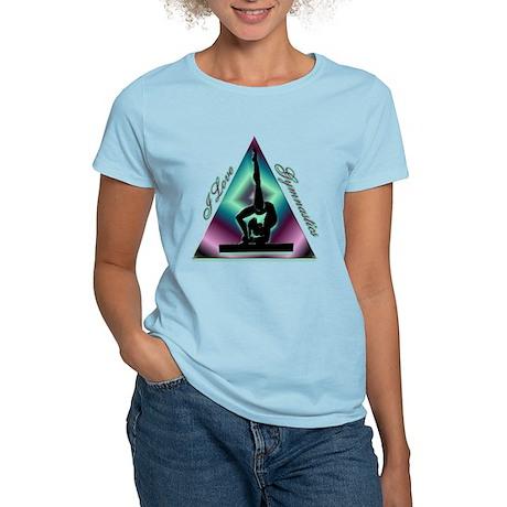 I Love Gymnastics Triangle #2 Women's Light T-Shir