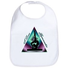 I Love Gymnastics Triangle #2 Bib