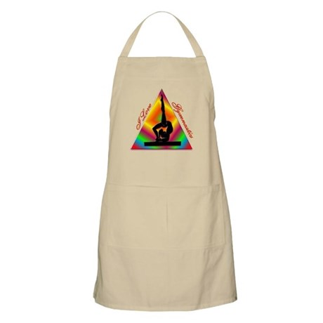 I Love Gymnastics Triangle #4 Apron