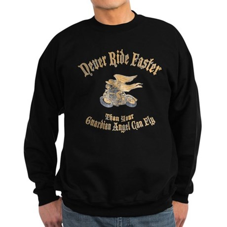 Never Ride Faster Sweatshirt (dark)