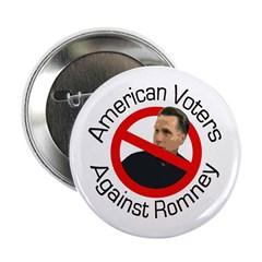 American Voters Against Romney button