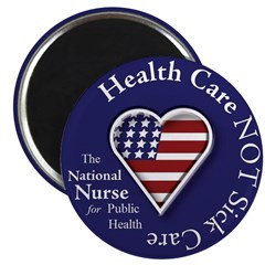 "NN for Public Health Heart 2.25"" Magnet (100"